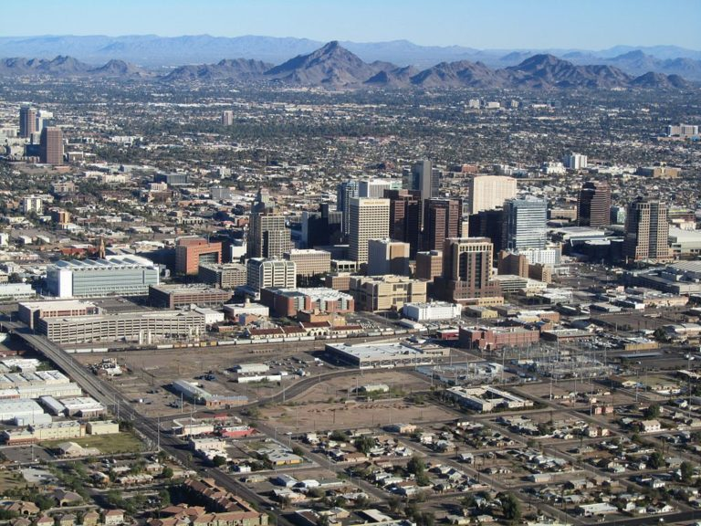 19 Decommissioned Shipping Containers Become Downtown Phoenix's Hottest Marketplace