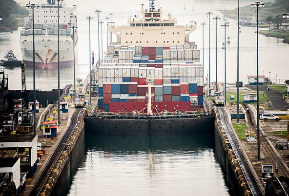 Container Shipping Booming at Panama Canal