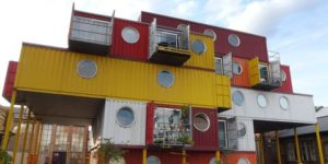 shippign container housing
